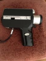Canon ZOOM 250 Super 8 filmfelvevő eredeti táskájában