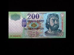 UNC - ELSŐSZÉRIÁS 200 FORINTOS - 1998 Ritkaság!