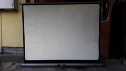 Retro Excellent nagy méretű vetítővászon 160 x 120 cm