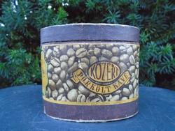 1960-as Pörkölt Kávé papír 10 dkg -os doboz   !