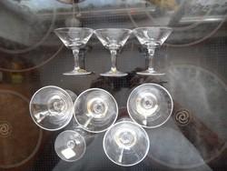 Salzburg Crystal pálinkás készlet