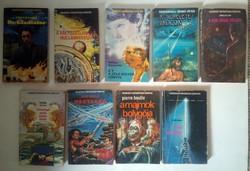 9db Kozmosz/Galaktika Fantasztikus Könyvek, E.T., Jedi visszatér stb..