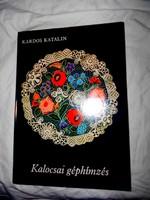 Kalocsai géphímzés-Kardos Katalin