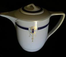 Art Deco kiöntó Kaestner Saxonia német porcelán