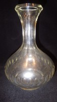 Antik hántolt italos dugós üveg palack