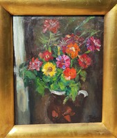Frank Frigyes / Virágcsendélet