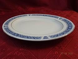 KANEHAN japán porcelán ovális húsos tál, Eddig nem használt.