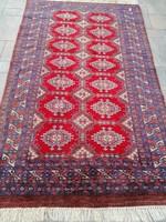 Kézi csomózású Pakisztáni Bochara szőnyeg.156x95cm.Alkudható!