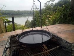 Nagyméretű láncos grilltárcsa 43cm