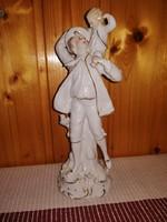 Sitzendorf gyönyörű porcelán figura