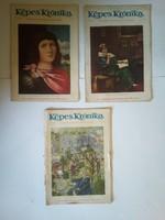 3db Képes Krónika 1926 VIII. évfolyam