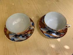 Lehelet vékony kínai porcelán teás 2 db