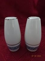 KANEHAN  japán porcelán sószóró, magassága 9 cm.