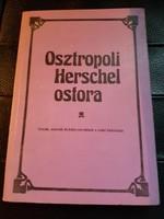 Osztropoli Herschel ostora-zsidó adomák,bölcseletek.