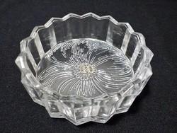 Parádi  kristály ékszertartó tálka , címkés