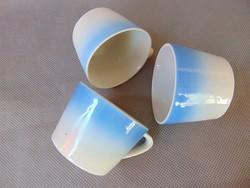 Régi Drasche porcelán csésze 3 darab