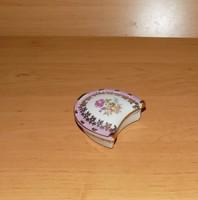 Martinroda porcelán Friedrich Eger & Co , PM porcelán aranyozott ékszertartó (28/d)