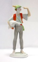 Hollóházi Lúdas Matyi figura (ZAL-BI39787)