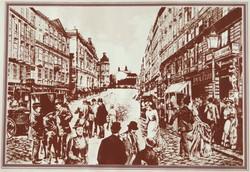 Pest-Buda, 85/100 - színes litográfia