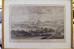 Bern látkép nyomat 1777-ből