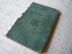 Katonai kórházi oktatókönyv 1886.