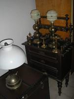 10 db Antik bútorok pipatórium kiegészítök egyben v.külön Kastély kúria vadászházba