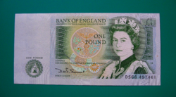 Egyesült Királyság - 1 Font Bankjegy - 1982 - UNC