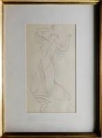 Pátzay Mária Táncoló nő