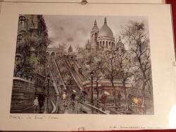 153 Parizs Le Sacre Coeur nyomat  1981 Edition Krisarts Paris