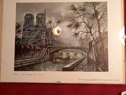 153 Parizs Notre Dame nyomat  1972 Edition Krisarts Paris