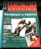 Hadi Krónika 1. - Kirobbant a háború!