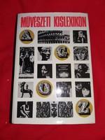 Régi Művészeti kislexikon könyv jó állapotban