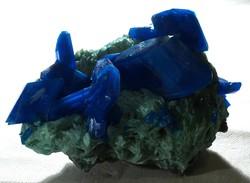 Gyűjteményi ásvány,(azurit ?) 01.