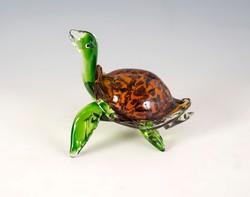 Muráno üveg teknős