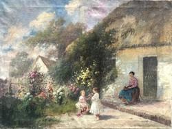 Ács Ágoston Parasztudvaron