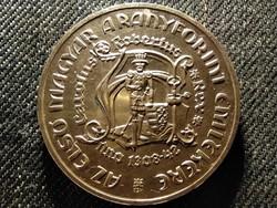Károly Róbert első magyar aranyforintja emlékére ezüst 200 Forint 1978 BP BU (id26786)