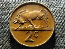 Dél-Afrikai Köztársaság Suid Afrika 2 Cent 1984 (id26269)