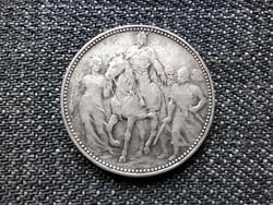 A honfoglalás 1000. évfordulója .835 ezüst 1 Korona 1896 KB (id23721)