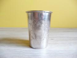 Ezüst keresztelő pohár