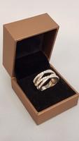Pandóra ezüst gyűrű cirkóniával díszítve