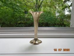 Virág kehely formájú Ezüstözött 1 szálas virág váza