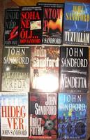 John Sandford bestsellerek 10 db