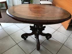Biedermeier szalon asztal P261