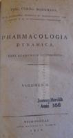 G019  Pharmacologia dynamica  / Philipp Karl Hartmann / Bécs 1816  II. kötet
