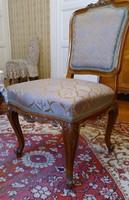 Neorokokó támlás szék 2 db