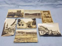 Régi városi képeslapok