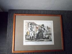 Klimkovics Ferenc: Székely népviselet, 1853, litográfia