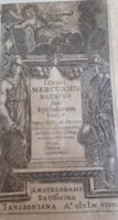 G027.3 Jacobus Crucius (Jacques de la Croix) Mercurius Batavus sive epistolarum libri V. -1647