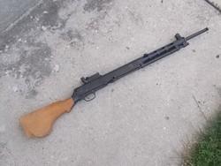 DP28 gólyószóró, puska hatástalanítva