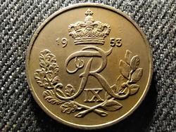 Dánia IX. Frigyes (1947-1972) 25 øre 1953 N♥S (id26873)